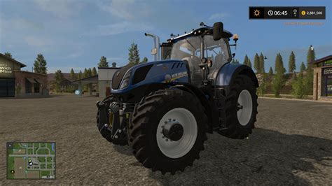 Modern Ls New T7 V1 2 For Fs 2017 Farming Simulator 2017
