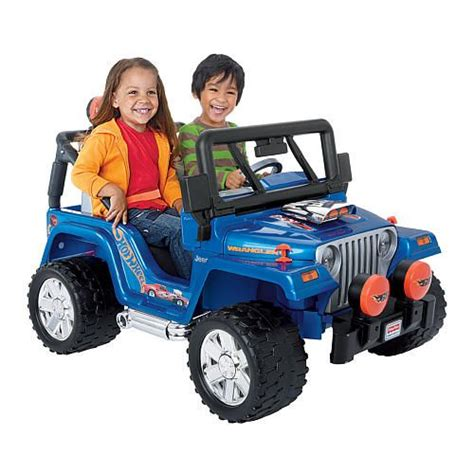 Toys R Us Jeep Power Wheels Fisher Price Jeep Wrangler Ride On