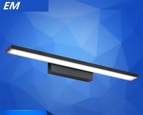 bedside reading l modern led mirror lights 40cm 120cm wall black modern brief led mirror light bathroom 40cm l