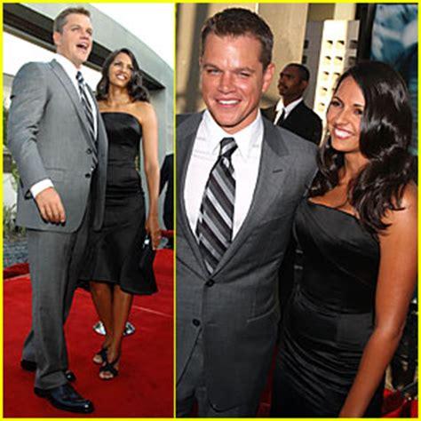 Carpet The Bourne Ultimatum Premiere La by Matt Damon Bourne Ultimatum Premiere Luciana Damon