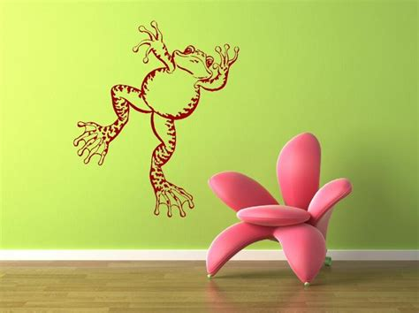 frog wall stickers toad frog