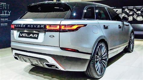 jeep range rover 2018 2018 range rover velar price interior specs 2018