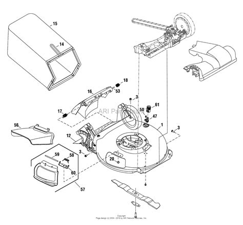 snapper mower parts diagram snapper sp80 7800930 00 725 series 21 quot variable speed