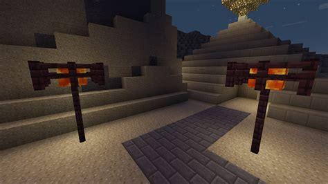 L Post Minecraft by 100 Minecraft Glowstone L Post Minecraft