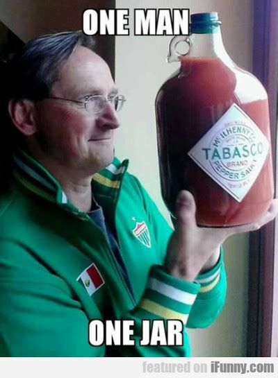 1 one man one jar best
