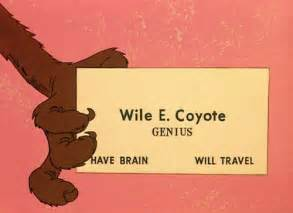 wile e coyote business card the best digital business idea that just never worked