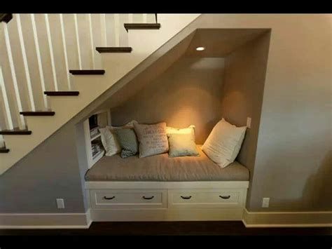 sofa under stairs under stairs sofa day bed small home pinterest under