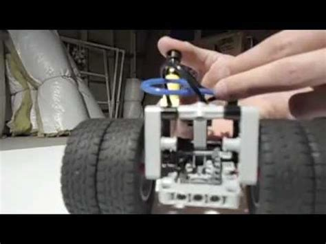 lego suspension tutorial lego technic rc american truck trailer with sliding