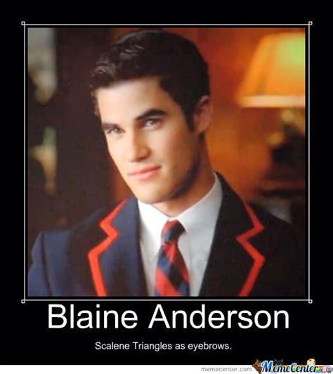 Blaine Meme - blaine anderson by itslexiee meme center