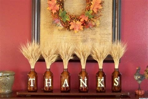 thanksgiving decorations for the home thanksgiving crafts easy decoration idea that s on huffpost