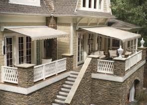 home awnings for porch deck awnings rainier shade