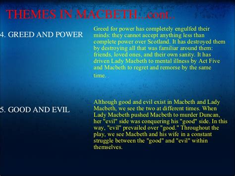 one of the themes of macbeth centers on evil quizlet macbeth struggle for power coursework service