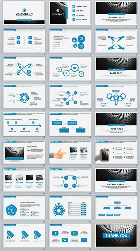 Professional Templates 27 Blue Business Professional Powerpoint Templates