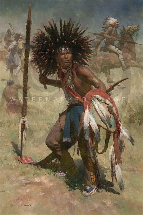 z s lakota sash wearer 1848 by z s liang greenwich