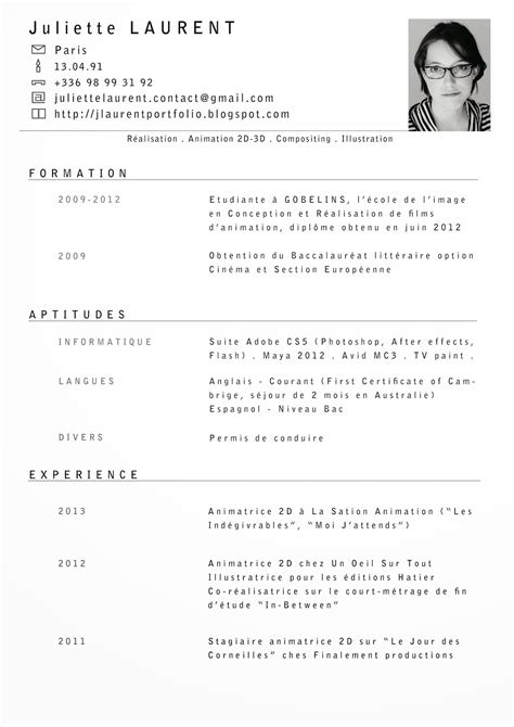 resume cv format curriculum vitae fr template resume builder