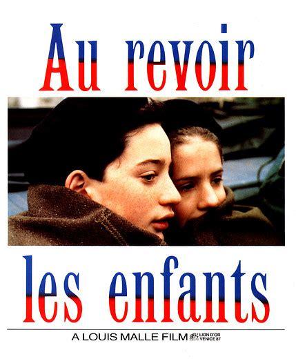 libro au revoir les enfants french sundaes au revoir les enfants 1987 187 the cinema museum london