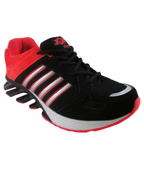 jqr black sports shoes available at snapdeal for rs 3000