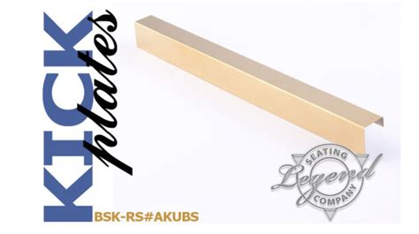 Bar Stool Foot Plate by Brass Kick Plate Bsk Rs Akubs