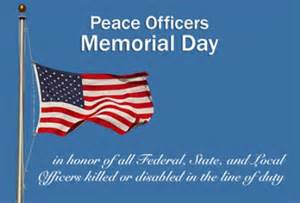2016 national peace officers memorial day