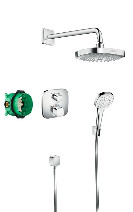 Hansgrohe Shower Set by Hansgrohe Shower Sets Croma Select E Design Showerset