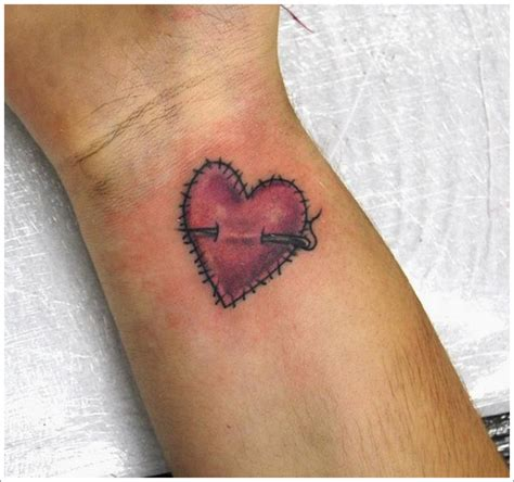 unique heart tattoo designs unique designs