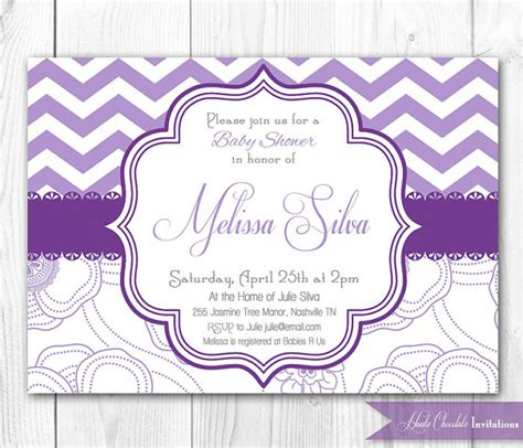 purple baby shower invitation templates lavender baby shower invitations free printable baby