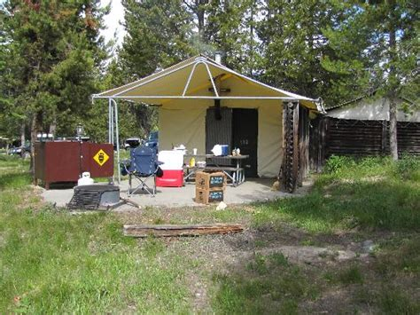 Colter Bay Tent Cabins by Colter Bay Jackson Lake Lodging National Park