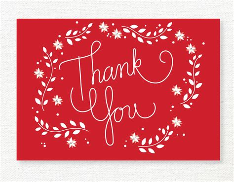 thank you cards cards christmas tag and tag templates