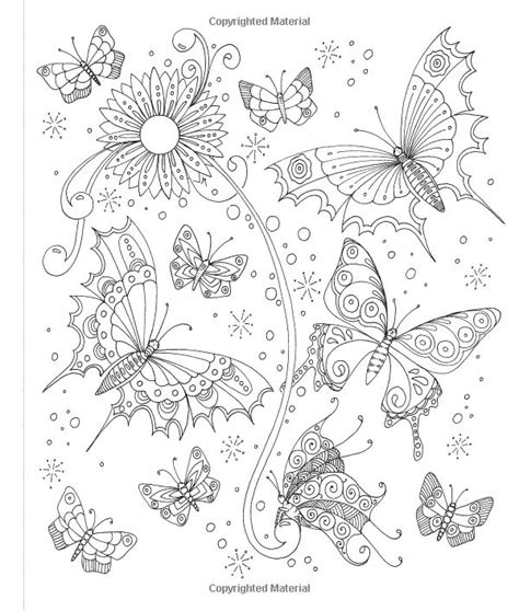 coloring pages butterfly garden 1866 best adult color pages images on pinterest