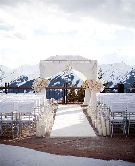 mountain themed decor fur wedding decor is a major moment see the photos