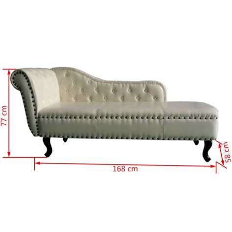 chaiselongue recamiere unterschied chesterfield recamiere chaiselongue cremewei 223 g 252 nstig