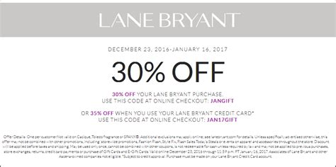 lane bryant coupons top deal 30 off goodshop lane bryant coupons 30 off store brands at lane bryant