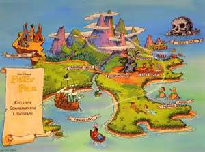 Tree Of Life Wall Mural neverland map maps and peter pan on pinterest