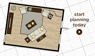 interactive plan for placing furniture