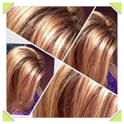 blonde highlights with mahogany low lights subtle mahogany lowlights are great for blondes mahogany