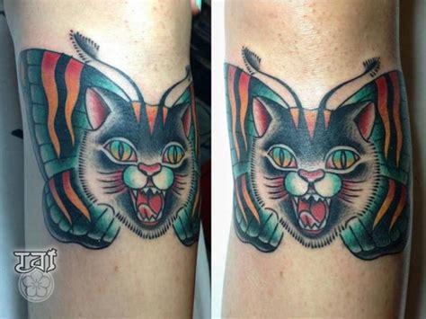 tattoo new school cat new school cat tattoo by tattoo tai