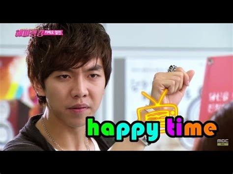 lee seung gi military rank eng 6 7 2015 mbc happy time happy ranking 1 lee
