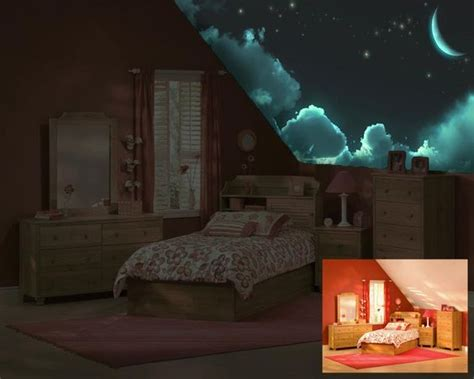 glow in the paint bedroom child room murals and glow on