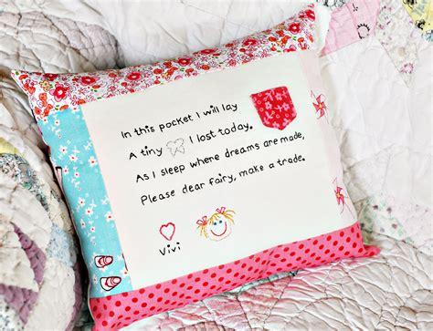 How To Make Tooth Pillow by 2012 August After