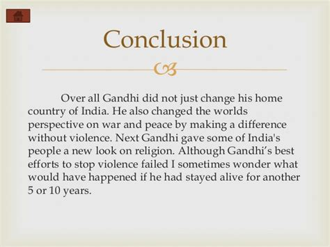 Mahatma Gandhi Biography Conclusion   mahatma gandhi