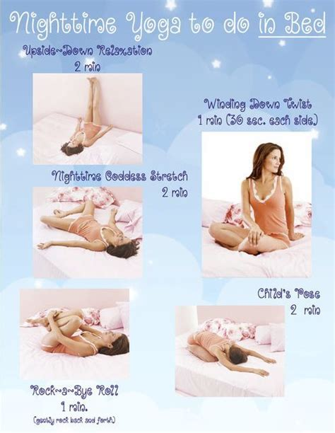 yoga poses before bed nighttime yoda to do in bed pictures photos and images