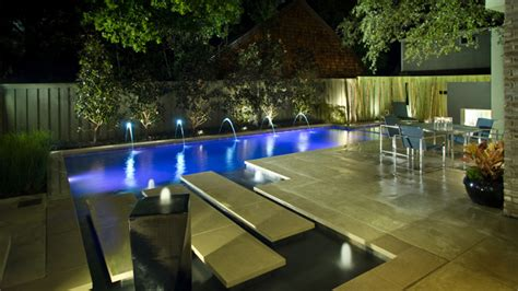 16 Splashing Outdoor Pool Designs For Wonderful Recreation Outdoor Swimming Pool Designs