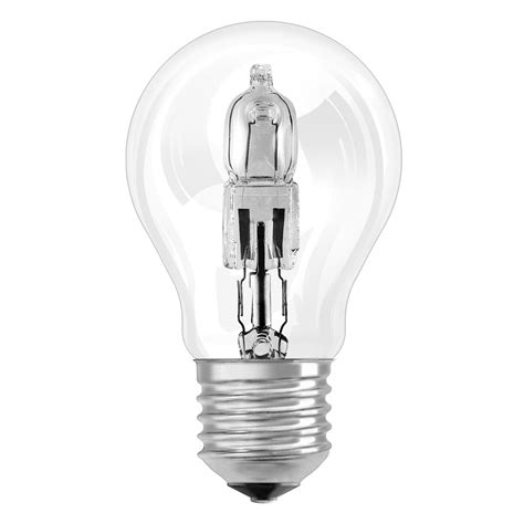 osram halogeenlen halogen bulb classic a eco e27 by osram