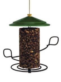 wbu seed cylinder bird feeder green roof