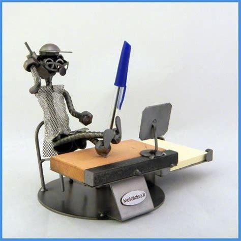 capo ufficio set da scrivania artigianale in metallo da collezione