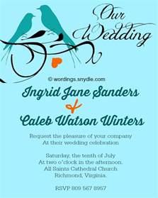 informal wedding invitation wording informal wedding invitation wording no parents the best