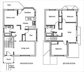 Home Design Examples by House Floor Plans Stairs Pinned By Www Modlar Com