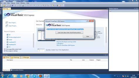 tutorial visual basic 2010 tutorial visual basic 2010 download gr 193 tis e instala 199 195 o