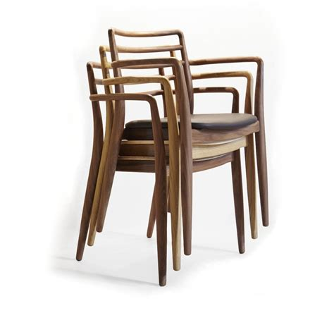 Stackable Chairs Wood by Tor Chair With Armrests Tor Collection By Studio