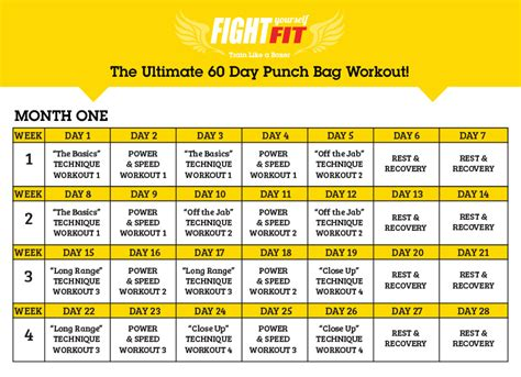punch bag workout fight yourself fit boxing